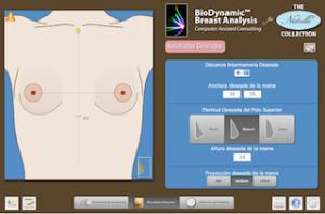 Talla de sujetador tras aumento de pechos. Biodynamics