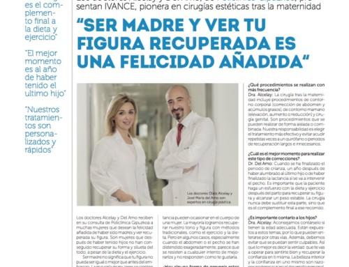 IVANCE, pionera en Cirugías Estéticas trás la maternidad | Entrevista en el Diario Vasco
