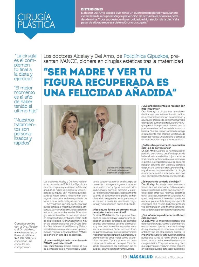 IVANCE, pionera en Cirugías Estéticas trás la maternidad